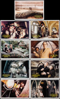 "Movie Posters:Comedy, Lemony Snicket's A Series of Unfortunate Events (Paramount, 2004). Deluxe Lobby Cards (9) (10.5"" X 16""). Comedy.. ... (Total: 9 Items)"