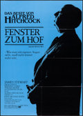 """Movie Posters:Hitchcock, Rear Window & Other Lot (Universal, R-1983). German A1s (2)(23"""" X 33""""). Hitchcock.. ... (Total: 2 Items)"""