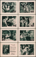 """Movie Posters:Serial, The House of Terror (William M. Pizor, 1928). Lobby Card Set of 8 (11"""" X 14"""") Episode 7 -- """"The Vision."""" Serial.. ... (Total: 8 Items)"""