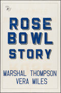 "Movie Posters:Sports, The Rose Bowl Story (Monogram, 1952). One Sheet (27"" X 41""). Sports.. ..."
