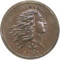 Large Cents, 1793 1C Wreath Cent, Vine and Bars MS64 Brown PCGS. S-8, B-13, R.3....