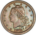 Patterns, 1872 $3 Amazonian Three Dollar, Judd-1236, Pollock-1378, High R.6,PR65 Brown NGC....