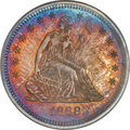 Proof Seated Quarters, 1868 25C PR66 PCGS. CAC....