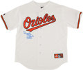 "Baseball Collectibles:Uniforms, Brooks Robinson ""HOF 83"" Signed Baltimore Orioles Jersey...."
