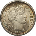 Barber Dimes: , 1911 10C MS66 PCGS. PCGS Population (74/13). NGC Census: (46/9).Mintage: 18,870,544. Numismedia Wsl. Price for problem fre...