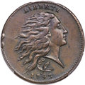 Large Cents, 1793 1C Wreath Cent, Vine and Bars -- Altered Surfaces -- PCGSGenuine. XF Details. S-6, B-7, R.3....