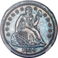 Proof Seated Dimes, 1859 10C Transitional PR65 NGC. Judd-233, Pollock-280, High R.6...