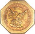 Territorial Gold, 1851 $50 LE Humbert Fifty Dollar, Lettered Edge, 880 Thous. MS63NGC. K-2, R.5....