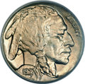 Buffalo Nickels, 1927-S 5C MS64 PCGS. CAC....
