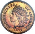 Proof Indian Cents, 1877 1C PR65 Red and Brown PCGS....