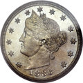 Proof Liberty Nickels, 1886 5C PR67 PCGS. CAC....