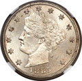 Liberty Nickels, 1885 5C MS65 NGC....