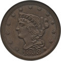 Half Cents: , 1853 1/2 C MS65 Brown NGC. C-1. NGC Census: (104/38). PCGSPopulation (36/2). Mintage: 129,694. Numismedia Wsl. Price for ...