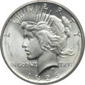 Peace Dollars: , 1926-D $1 MS65 PCGS. PCGS Population (653/185). NGC Census:(488/104). Mintage: 2,348,700. Numismedia Wsl. Price for proble...