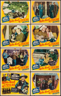"Robin Hood of Texas (Republic, 1947). Lobby Card Set of 8 (11"" X 14""). Western. ... (Total: 8 Items)"