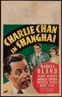 "Charlie Chan in Shanghai (Fox, 1935). Window Card (14"" X 22""). Mystery"