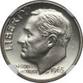 Roosevelt Dimes, 1965 10C MS68 NGC. Business Strike. NGC Census: (4/0). PCGSPopulation (1/0). Mintage: 1,652,140,544. ...