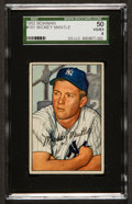 Baseball Cards:Singles (1950-1959), 1952 Bowman Mickey Mantle #101 SGC 50 VG/EX 4....