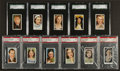 Non-Sport Cards:Other, 1930's-40's Movie Stars Graded Mint Collection (11) - SGC and PSAGraded. ...