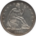 Seated Half Dollars: , 1863 50C MS62 NGC. NGC Census: (7/44). PCGS Population (6/55).Mintage: 503,200. Numismedia Wsl. Price for problem free NGC...