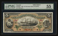 Canadian Currency: , Halifax, NS- The Merchants' Bank of Halifax $5 1892 Ch # 465-20-06SSpecimen. ...