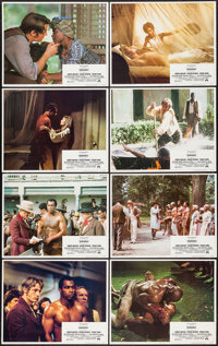 "Mandingo (Paramount, 1975). Lobby Card Set of 8 (11"" X 14""). Exploitation. ... (Total: 8 Items)"