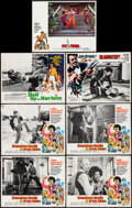 "Movie Posters:Blaxploitation, Blaxploitation Lot (1972-1976). Lobby Cards (7) (11"" X 14"").Blaxploitation.. ... (Total: 7 Items)"
