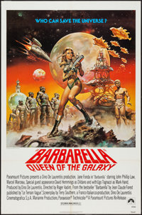 "Barbarella (Paramount, R-1977). One Sheet (27"" X 41""). Science Fiction"