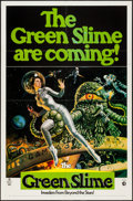 "Movie Posters:Science Fiction, The Green Slime (MGM, 1969). One Sheet (27"" X 41""). ScienceFiction.. ..."