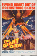 "Movie Posters:Science Fiction, The Giant Claw (Columbia, 1957). One Sheet (27"" X 41""). Science Fiction.. ..."