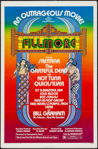"""Fillmore (20th Century Fox, 1972). One Sheet (27"""" X 41""""). Rock and Roll"""