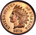 Proof Indian Cents, 1879 1C PR66 Red PCGS. CAC....