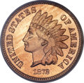 Proof Indian Cents, 1872 1C PR64 Cameo PCGS....