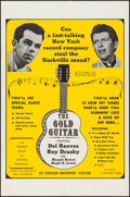 """Movie Posters:Musical, The Gold Guitar (Craddock Films, 1966). One Sheet (27"""" X 41""""). Country & Western Musical.. ..."""