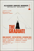 """Movie Posters:Comedy, The Graduate (Avco Embassy, R-1972). One Sheet (27"""" X 41"""").Comedy.. ..."""