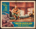 "Movie Posters:Science Fiction, The Amazing Colossal Man (American International, 1957). Lobby Card (11"" X 14""). Science Fiction.. ..."