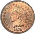 Indian Cents, 1879 1C MS66 Red PCGS....