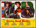 "Movie Posters:Musical, Guys and Dolls (MGM, 1955). Half Sheet (22"" X 28"") Style A.Musical.. ..."