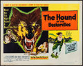 "Movie Posters:Mystery, The Hound of the Baskervilles (United Artists, 1959). Half Sheet(22"" X 28"") Style A. Mystery.. ..."