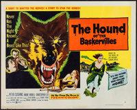 "The Hound of the Baskervilles (United Artists, 1959). Half Sheet (22"" X 28"") Style A. Mystery"