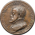 Betts Medals, Betts-3. 1559 Peace of Cambrai. Bronze, cast, chased. Good VF....