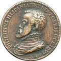 Betts Medals, Betts-3. 1559 Peace of Cambrai. Bronze, cast. About VF....
