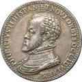 Betts Medals, Betts-12. 1581 (1560) West Indies Commerce. Silver, cast. XF....