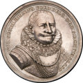 Betts Medals, Betts-26. 1629 Heyn Victorious at Matanzas. Silver. XF....