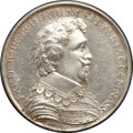 Betts Medals, Betts-33. 1631 Dutch New World Victories. Silver. Fine....
