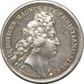 Betts Medals, Betts-52. 1677 Victory at Tobago. Silver. VF....