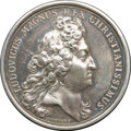 Betts Medals, Betts-69. 1690 Quebec Preserved. Silver. VF-XF....