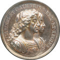 Betts Medals, Betts-44. 1670 British Colonization. Silver. AU. ...