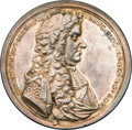 Betts Medals, Betts-66. 1687 Christopher Lord Albemarle. Silver. VF....