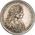 Betts Medals, Betts-67. 1687 Silver Shoals Treasure Recovery. Silver. VF/XF....